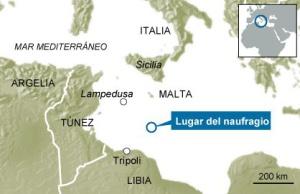 700 inmigrantes desaparecidos tras hundirse su barco en aguas libias