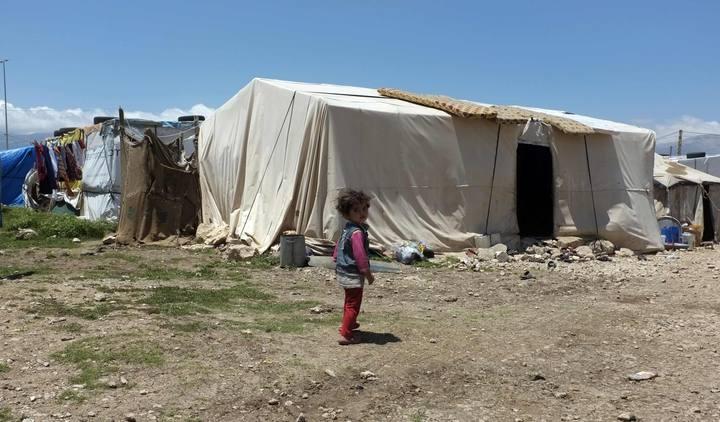Campo de refugiados sirios en la ciudad de Anjar, en Líbano.REUTERS/Caren Firouz
