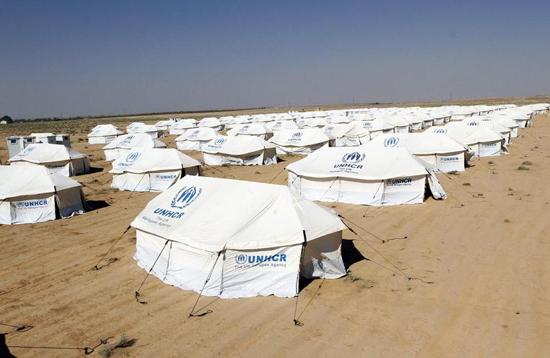 Campo de refugiados sirios en Jordania
