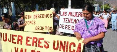 Mujeres vulnerables
