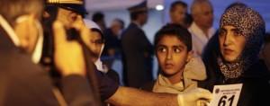 Refugiados Sirios llegan a Catania - Italia