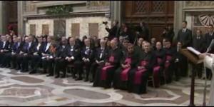 El Papa, al Cuerpo Diplomático