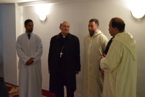 La visita del arzobispo a la comunidad de Attaqwa fue una de las iniciativas desarrolladas por el grupo de diálogo cristiano-musulmán