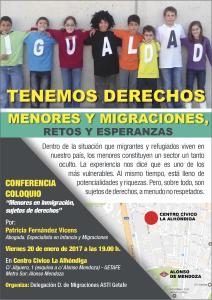 Charla coloquio en Getafe: Menores y Migraciones