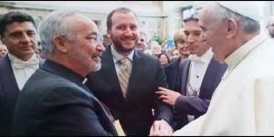 José Luis Pinilla sj. con el Papa