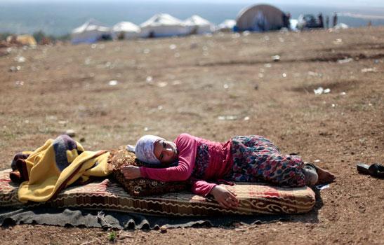 Alemania recibirá este año a cinco mil refugiados sirios. Foto: AP.