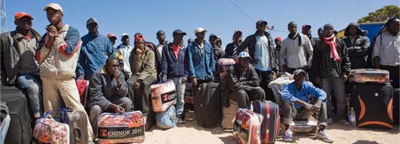 Refugiados malíes